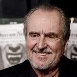 Wes Craven arrives at the Scream Awards on Oct. 16, 2010, in Los Angeles. The horror filmmaker died Sunday of brain cancer.