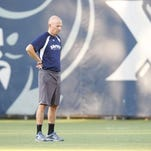 Men's soccer coach Andy Fleming has amassed a 63-28-17 record since arriving at Xavier. Now his team is No. 10 in the latest NSCAA poll.