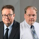 Douglas Walker and Keith Roysdon