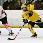 Nick Snyder and the Hartland hockey team improved to 3-0 on Monday with its 6-2 win over Pinckney.