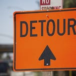 Overnight closures will take place on Route 42 on Thursday, Friday and Saturday.