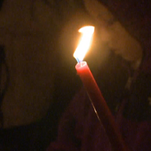 A candlelight vigil was held for Malik Drummond on Thursday.