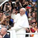 Pope Francis in Philadelphia in September 2015.