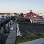 The marine commercial district extends along the canal and east along Savannah Road in Lewes.