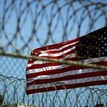 Guantanamo Bay prison in Cuba in 2005.
