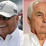 Rick Hendrick and Roger Penske.