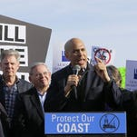 Menendez, Booker and Pallone lead rally against offshore drilling