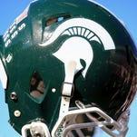 MSU football helmet