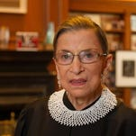 """Supreme Court Justice Ruth Bader Ginsburg wrote the court's opinion rejecting a Republican challenge to the constitutional principle of """"one person, one vote."""""""