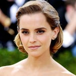 Emma Watson at the Met Gala in New York City on May 2, 2016.