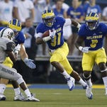 The return of running back Wes Hills from a foot injury feeds Blue Hen optimism for the 2016 football season.