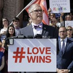 The number of same-sex marriages has surged since Jim Obergefell and his fellow plaintiffs won their case at the U.S. Supreme Court last June.