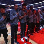 Bucks' Jason Kidd proud young team uniting over anthem decision