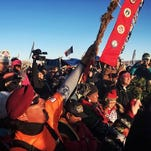 Protesters celebrate halt of Dakota Access pipeline