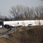 'Rejected takeoff' led to Michigan basketball plane crash, feds find