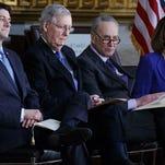 Senate adjourns without deal to end shutdown; Monday vote scheduled
