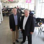 Bob Coy, left, and Mike Venerable of CincyTech.
