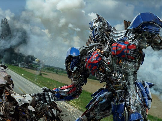 "Optimus Prime is back for a fourth installment of ""Transformers."""
