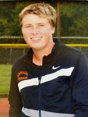 Armada No. 1 singles player Brett Reuter