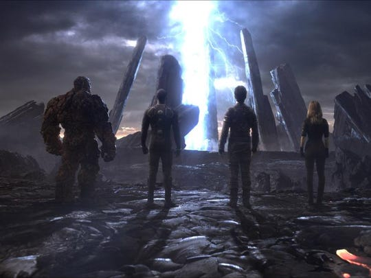"""A scene from the motion picture """"The Fantastic Four."""""""