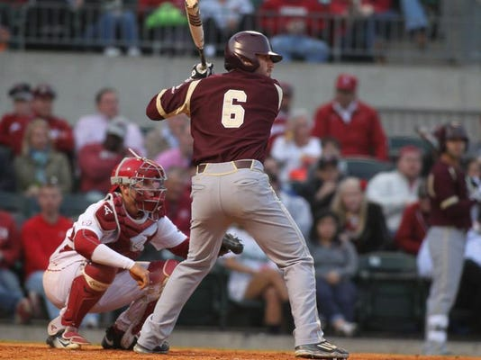 ULM @ Arkansas baseball
