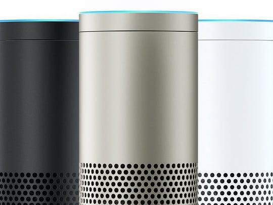The new Amazon Echo Plus.