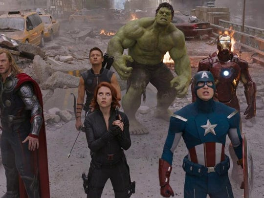 "The Avengers in ""Avengers: Age of Ultron."""