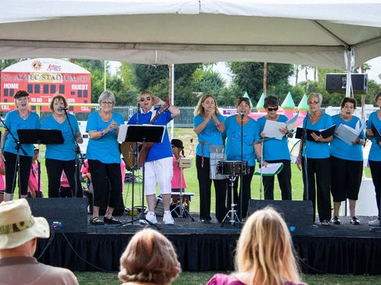Singing group gets jollies from helping others