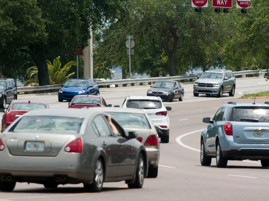 Traffic using the Pensacola Bay Bridge flows at a steady pace during off-peak hours Tuesday afternoon, however local officials are increasingly worried about traffic congestion caused by accidents and stalled vehicles during peak hours and on weekends
