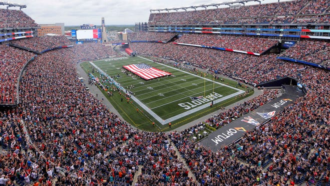 Mississippi State will play at Gillette Stadium on Saturday.