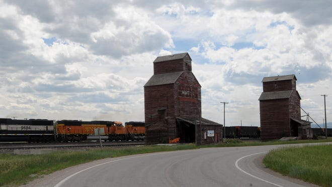 Hobson's iconic grain elevators were at risk but a local effort is committed to their preservation.