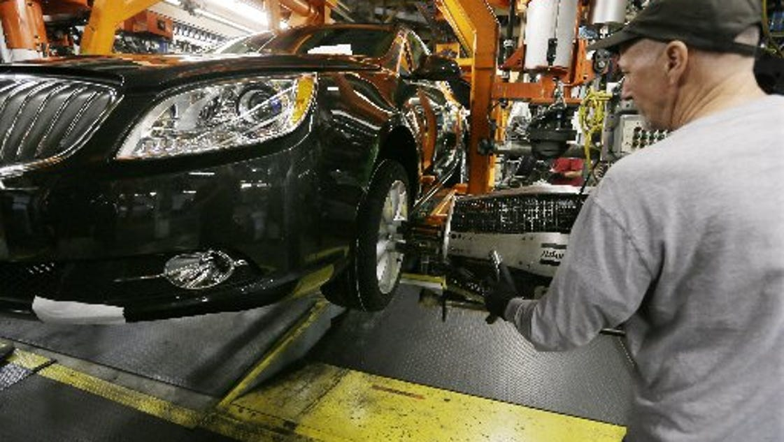 Gm Lays Off 500 At Orion Assembly Plant