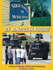 """Cover of """"Six Minutes in August"""" by Stephen Scaffidi."""