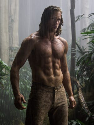"""You don't get a body like that by eating pizza. Alexander Skarsgård stars in """"The Legend of Tarzan."""""""