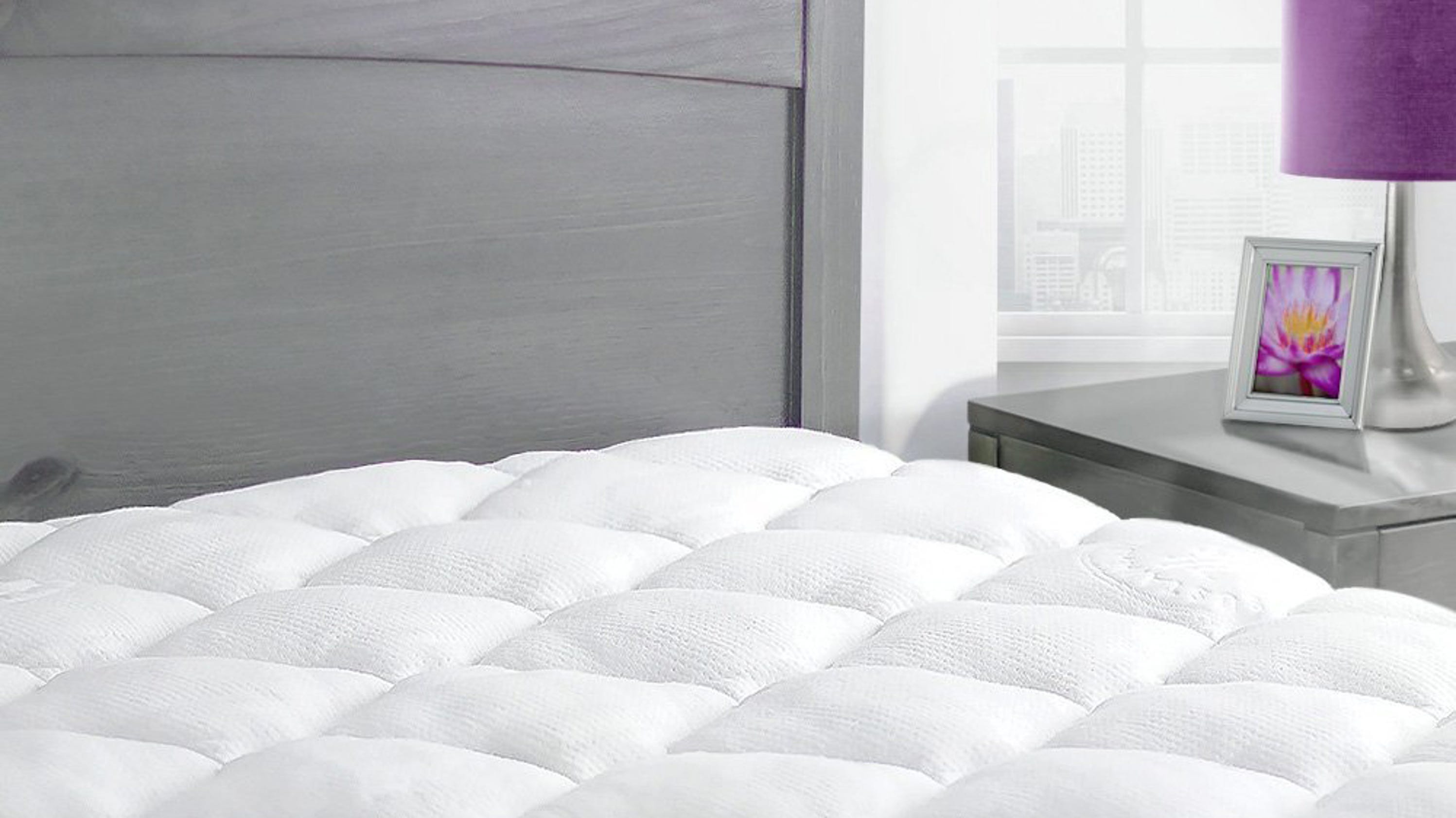 This plush bamboo mattress pad is back down to its lowest price