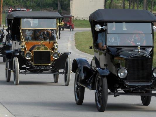 Model T Centennial Celebration in Richmond, Ind.