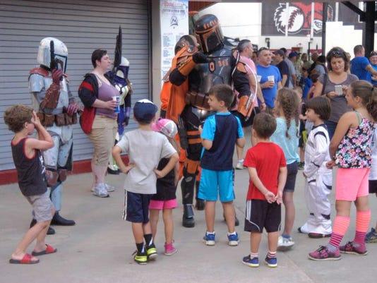 New Jersey Jackals' Star Wars Night