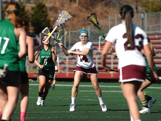Sophomore Maggie Ashley leads the Lady Hillbillies with five goals on the season.