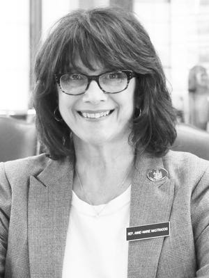 State Rep. Anne Marie Mastraccio, currently serving her fourth term in Augusta, is the first person to take out nomination papers for the mayoral race in this fall's municipal election in Sanford.