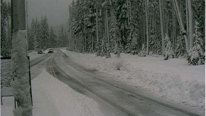 Crater Lake National Park could see upwards of 50 inches during the next six days.