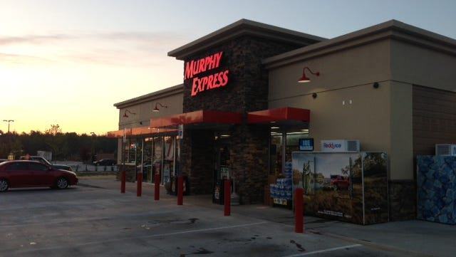 The winning ticket was sold at a Murphy Express store, seen here, in Lexington, S.C.