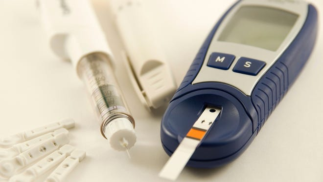 People with diabetes often use a blood glucose monitoring device to help them maintain healthy glucose levels.