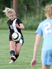 Stevens Point Area Senior High's Justice Menge was one of four local players named honorable mention all-state by the WSCA.