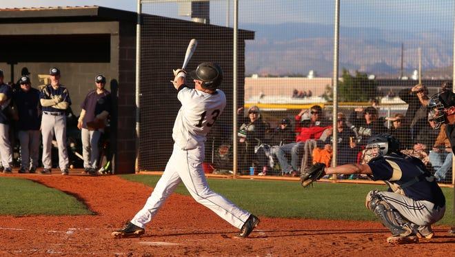 Desert Hills baseball beats Snow Canyon 7-2, Friday April 28, 2017.