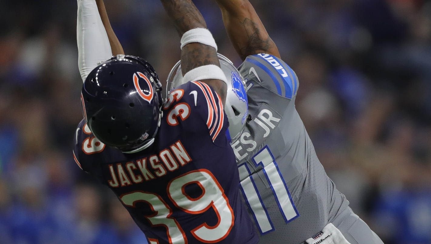 Detroit Lions' Marvin Jones shows how marvelous he can be vs. Bears