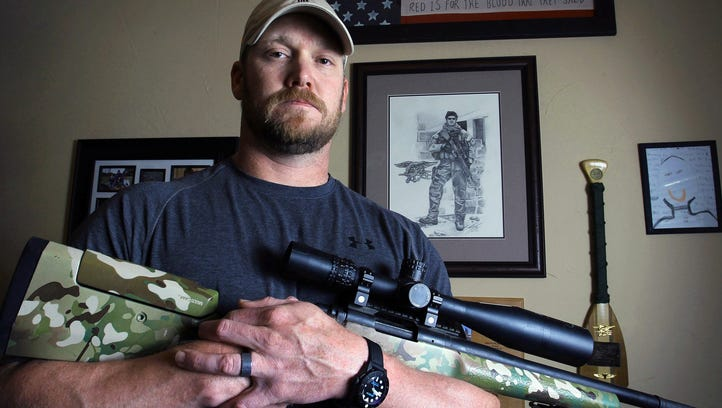 Chris Kyle is seen in this 2012 photo.