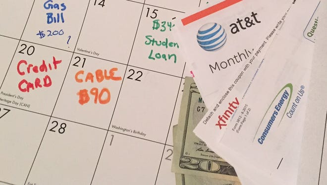 Consumers can build a better credit score by consistently paying bills on time.