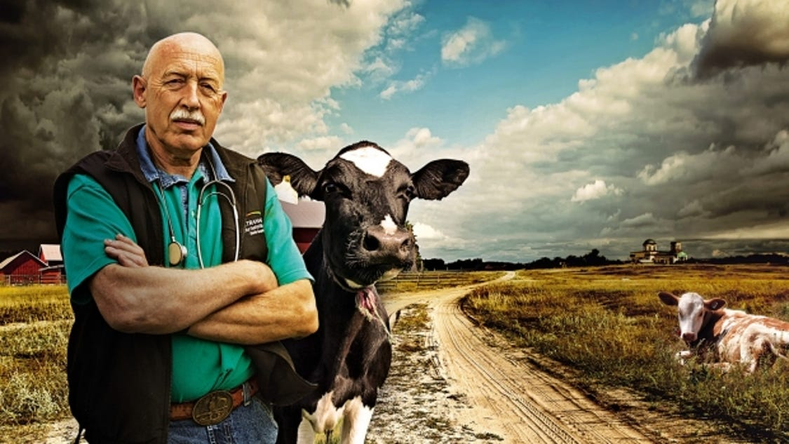 Incredible story of old school vet dr pol saturday