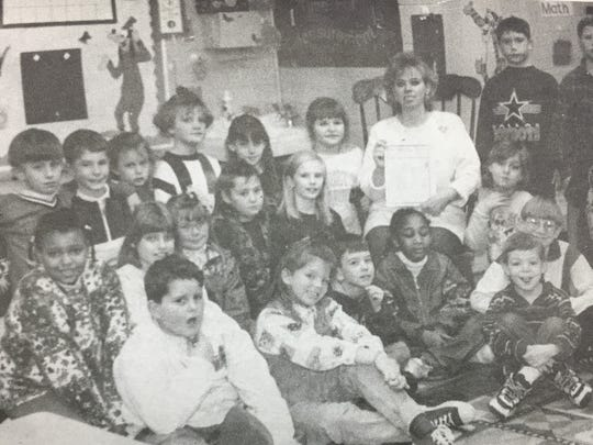 Mrs. Sandra Chandler and her Uniontown Elementary School class put together a newspaper of their own in January 1996. The class made $40 in newspaper sales and donated the money to a family in need to help pay their utility bills.