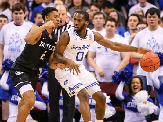 NCAA Basketball: Butler at Seton Hall